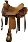 Showman Youth Wade Roping Saddle