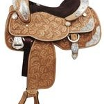 Double T Fully Tooled Show Saddle